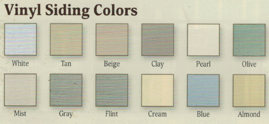 Vinyl Siding Colors