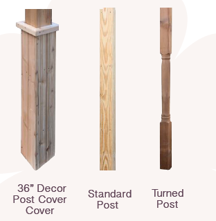 Wood Post Options