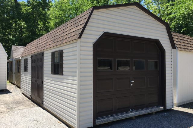 12x24 Dutch Vinyl Garage