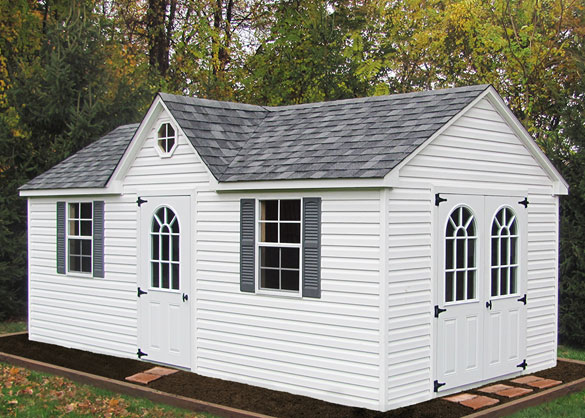 white amish built backyard shed in glen burnie maryland